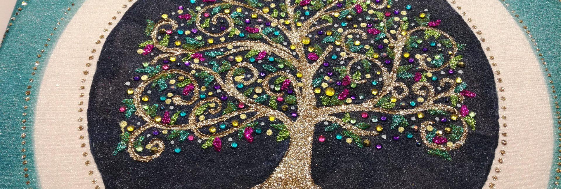 mandala keltský strom života