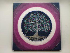 druid strom života mandala
