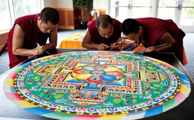tibetian mandaal mandalarium mandala