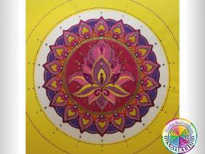 mandala sexu lotosový kvet piesková mandala uzasna dych vyrazajuca