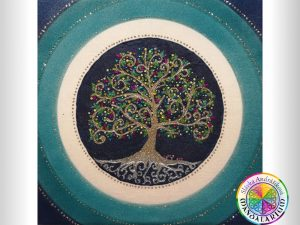 nádherné pieskové mandaly strom života piesková mandala