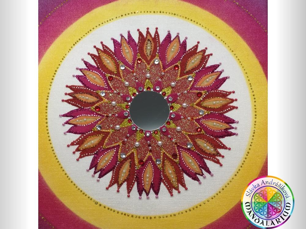 zázračná mandala so zrkadlom piesková mandala madaly na predaj