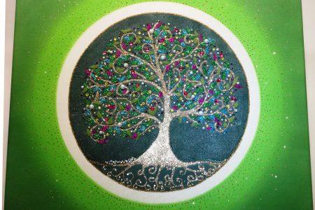 strom zivota z piesku